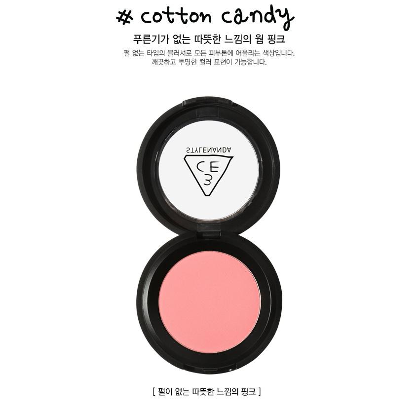 3CE Stylenanda Face Blush [COTTON CANDY]