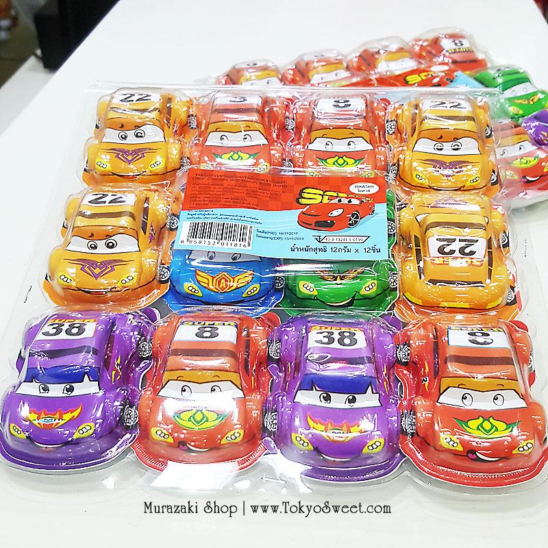 พร้อมส่ง ** Choco Egg - Super Racing Car BOX ไข่ช็อคโกแลตรูปรถแข่ง แถมของเล่น แพ็ค 12 ชิ้น (สินค้ามีอย.ไทย)