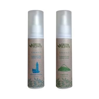 สเปรย์สลายกลิ่น กรีนเซ้นส์ ออแกนิค NEW GreenScents Organic LONDON Spring & TOKYO Spa