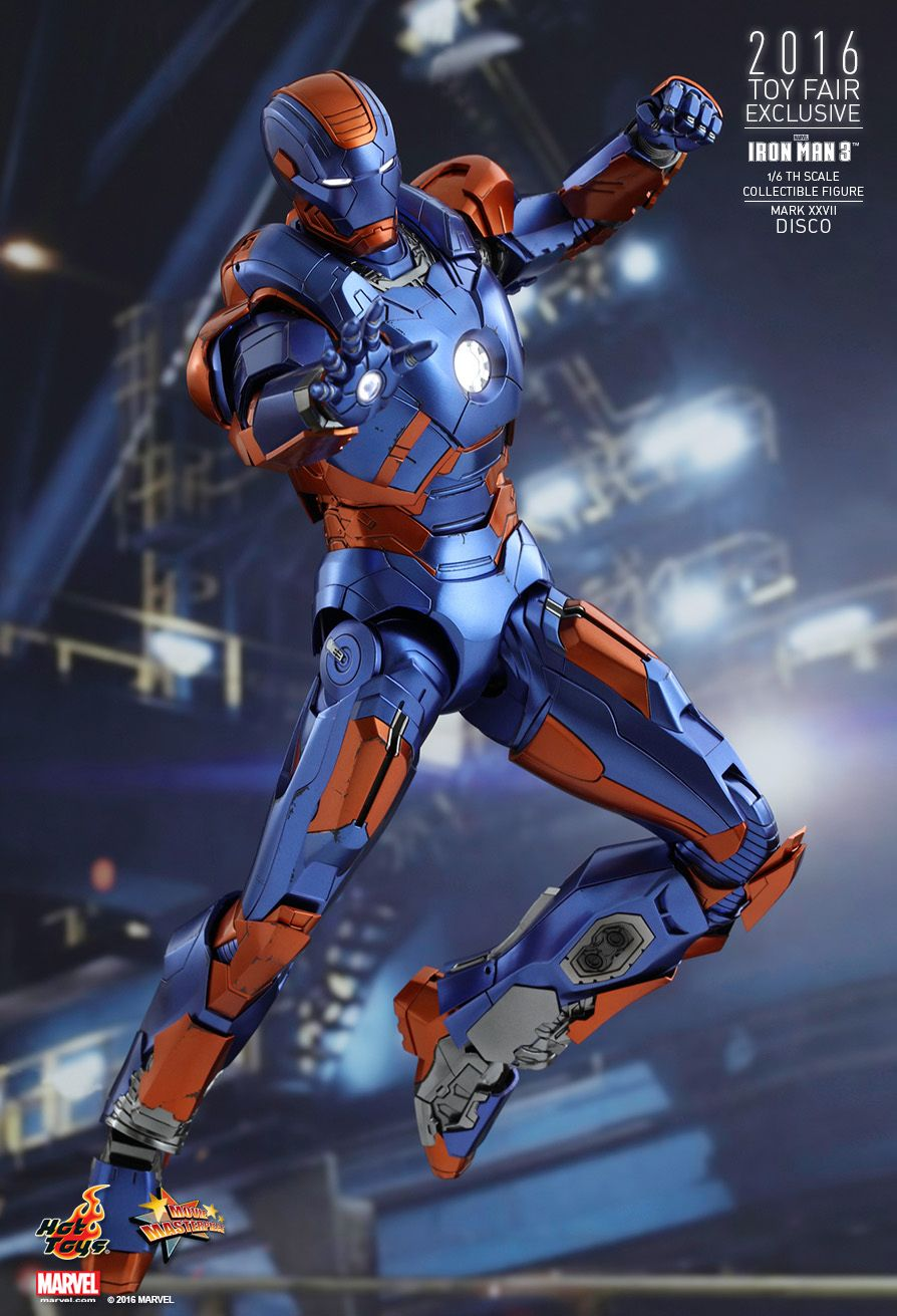 Hot Toys MMS371 IRON MAN 3 - DISCO (MARK XXVII)