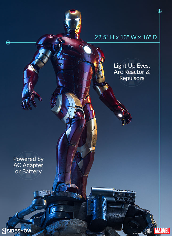 Iron Man Mark III - Maquette by Sideshow Collectibles
