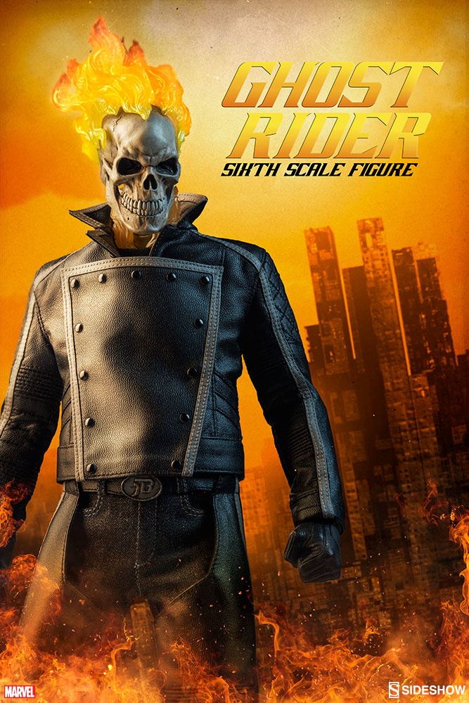 Ghost Rider - Sixth Scale Figure by Sideshow Collectibles