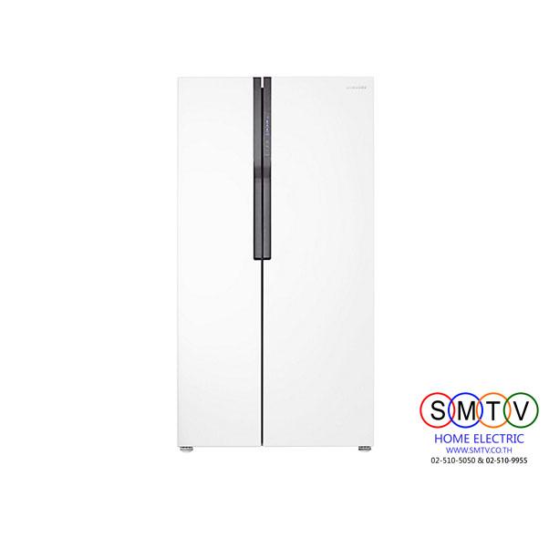 ตู้เย็น Side by Side 20.6Q SAMSUNG รุ่น RS552NRUAWW/ST