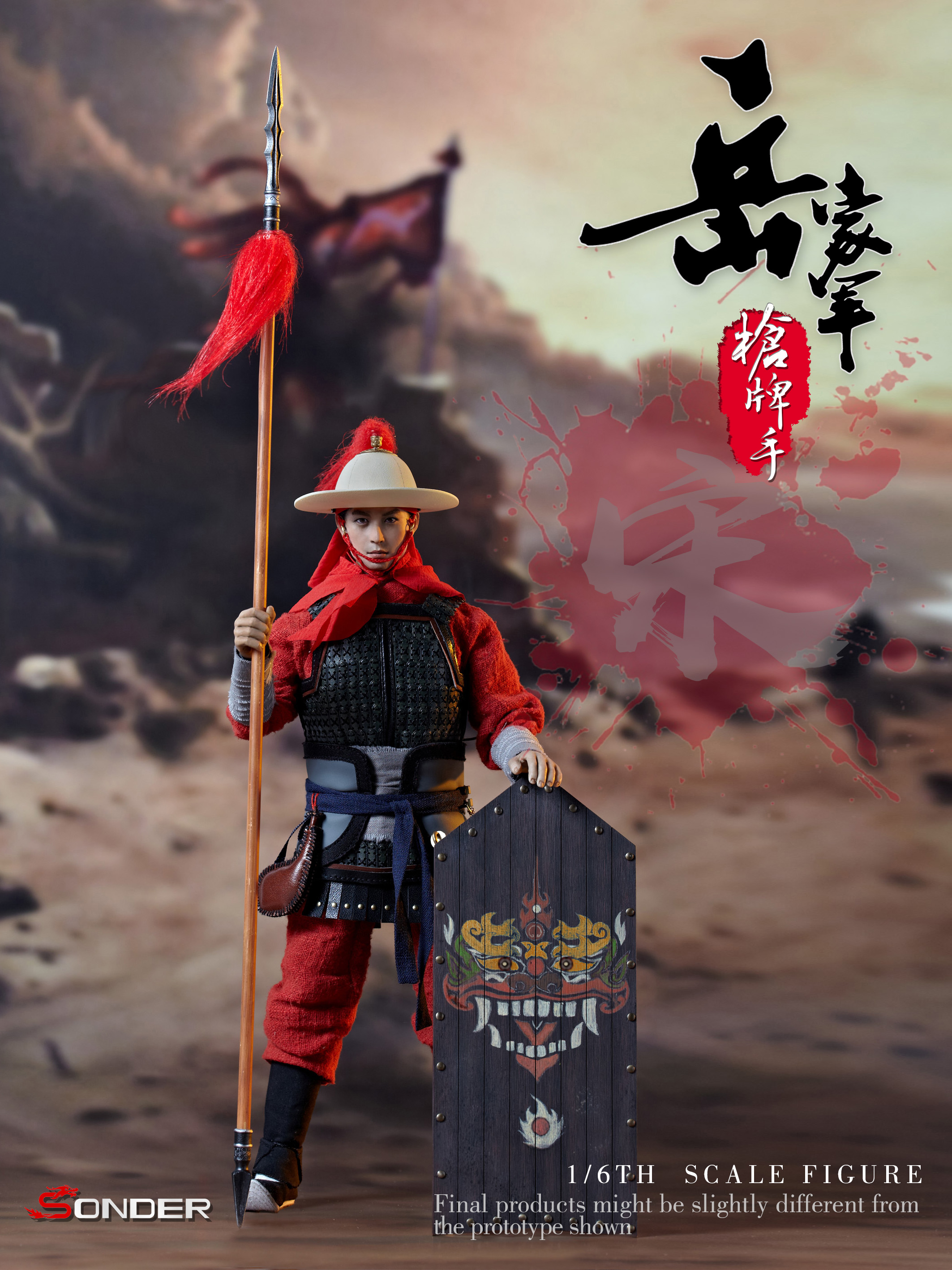 SONDER SD001 Soldiers of Song Dynasty - Warrior of army Yue