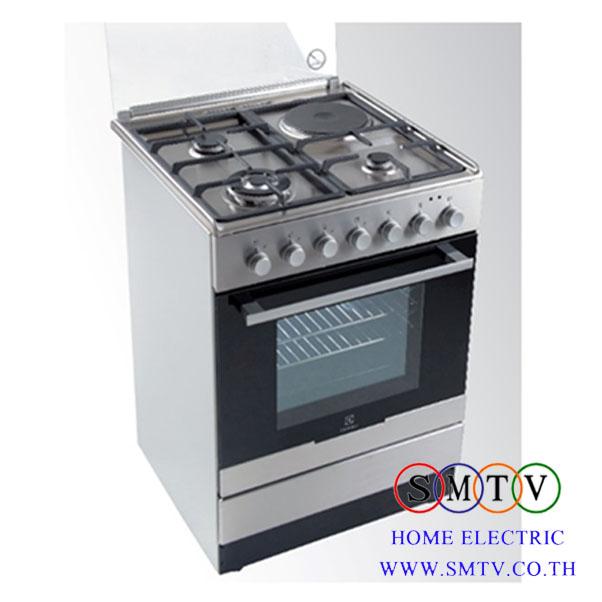 เตาแก๊ส- เตาอบ ตั้งพื้น ELECTROLUX รุ่น EKM61301OX