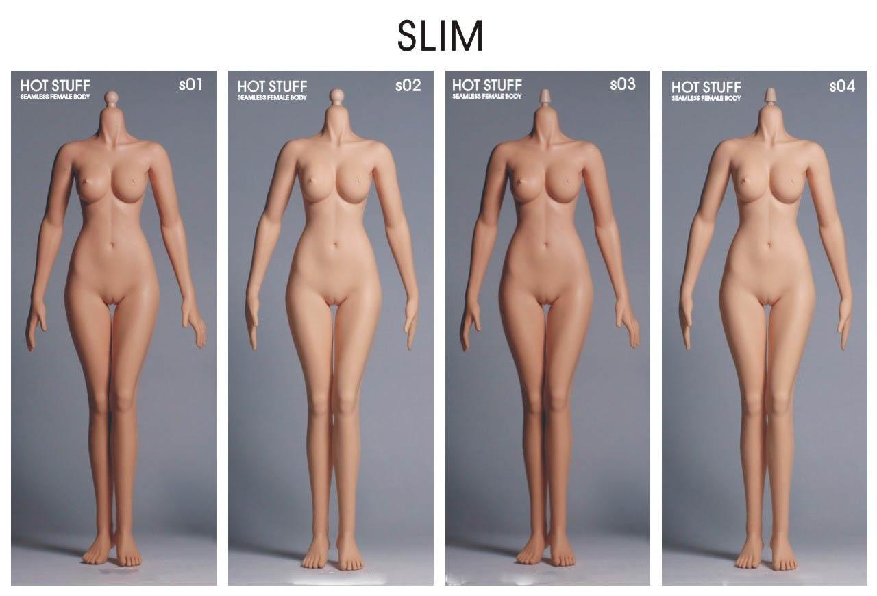 Hot Stuff 1/6 Female Seamless Body 3.0