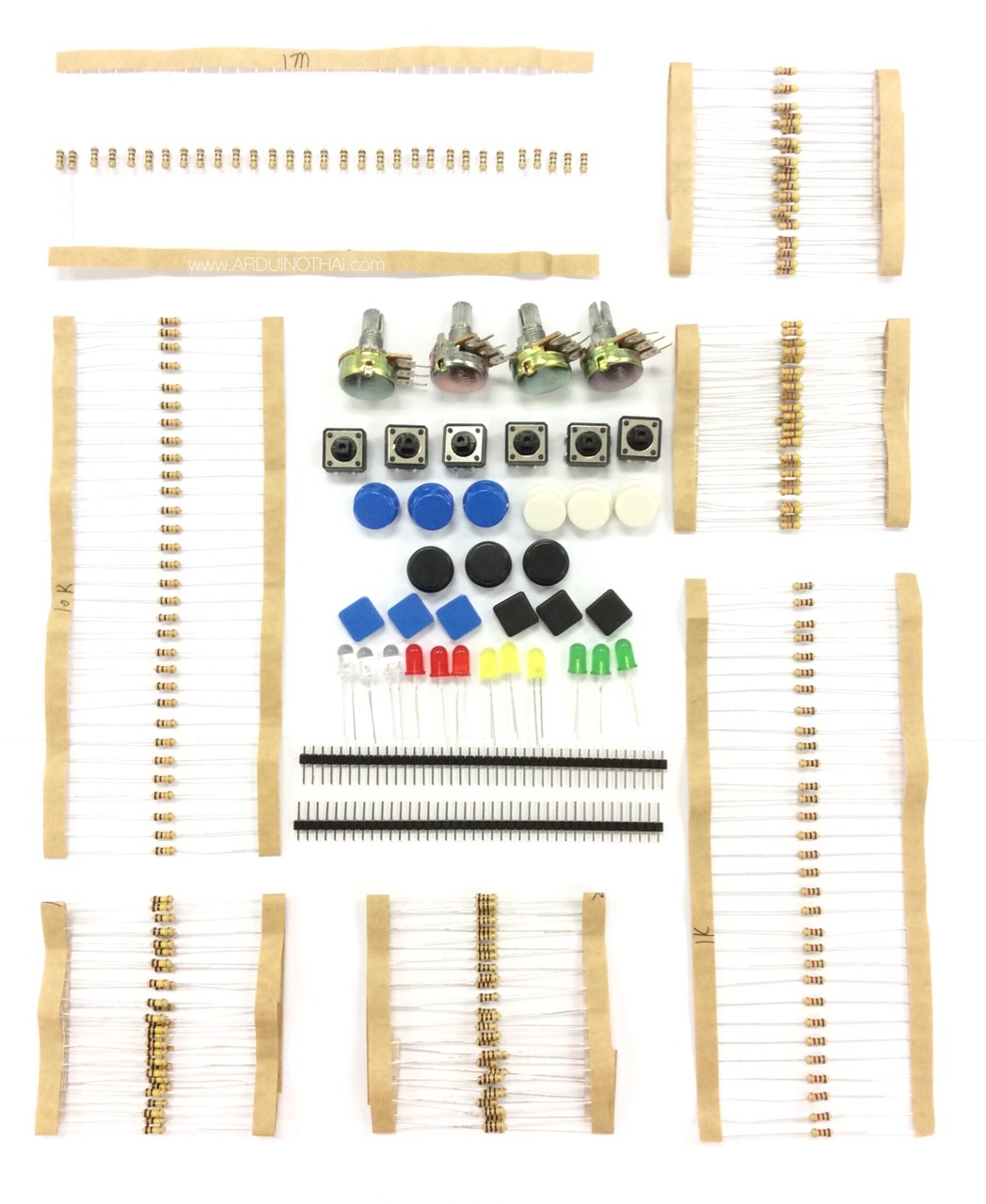 Arduino common parts package