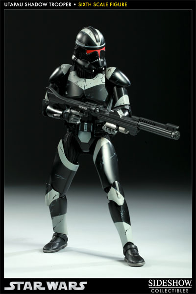 SIDESHOW STAR WARS - Militaries Or Star Wars: UTAPAU SHADOW TROOPER