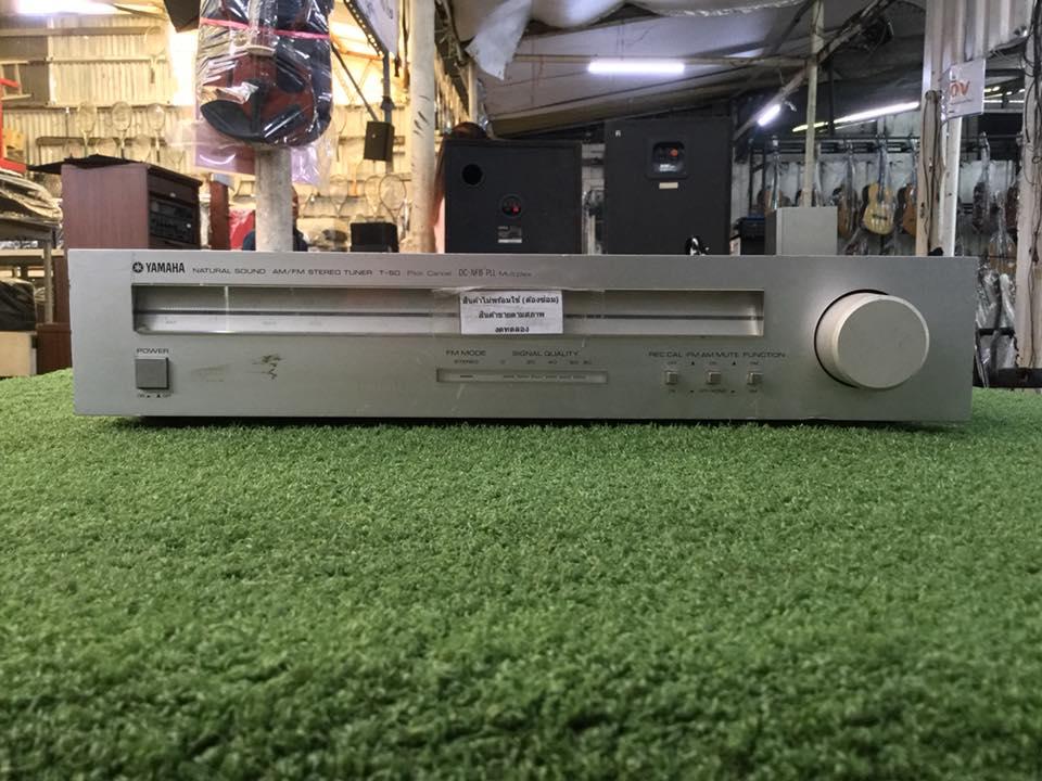 วิทยุ FM AM YAMAHA T-5D สินค้าไม่พร้อมใช้งาน (ต้องซ่อม)