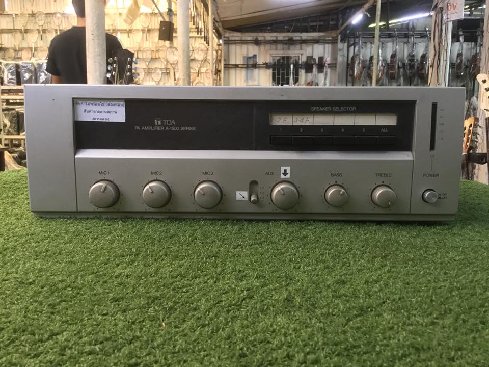 PowerAmplifier TOA A-1500