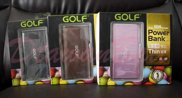 พาวเวอร์แบงค์ Golf Tiger 108,แบตสำรอง Golf Tiger 108,powerbank 6800mah ของแท้ 100%