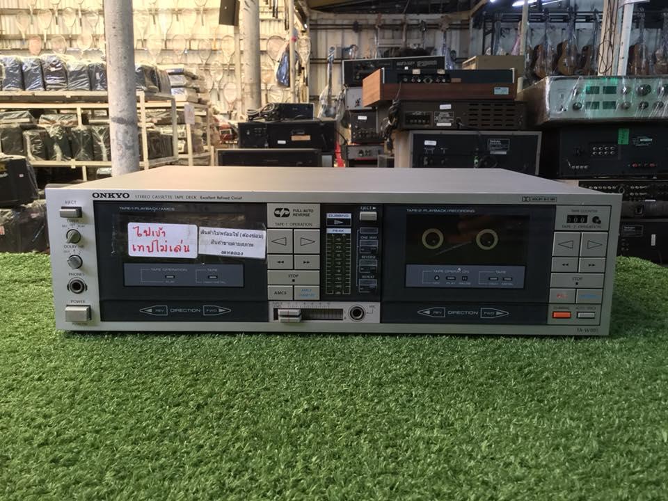 เครื่องเล่นเทป ONKYO TA-W991 สินค้าไม่พร้อมใช้งาน (ต้องซ่อม)