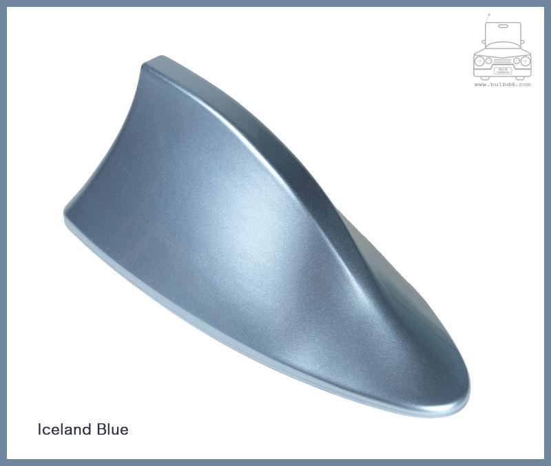 เสาวิทยุครีบฉลาม สีฟ้าอ่อน (Light Blue)