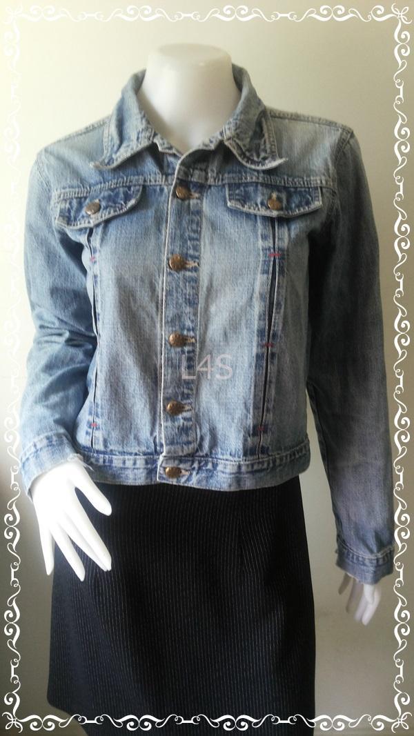 Jeans0007--เสื้อยีนส์มืสอง นำเข้า อก 36 นิ้ว