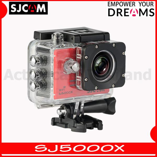 SJCAM SJ5000X Elite WiFi (Red) 4K 24fps 2K30fps Gyro
