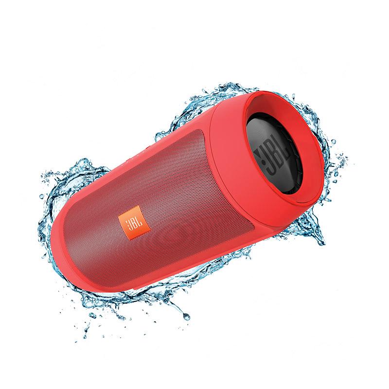 ลำโพงพกพา JBL Charge 2+ Bluetooth Speaker (Red)