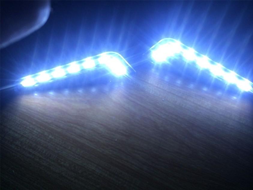 ไฟเดย์ไลย์ LED 8 หลอด แบบตัวแอล
