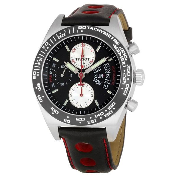 นาฬิกาผู้ชาย Tissot รุ่น T0214142605100, T-Sport PRS516 Chronograph Automatic 100m Men's Watch