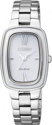 นาฬิกาข้อมือผู้หญิง Citizen Eco-Drive รุ่น EM0005-56A, Sapphire Japan Elegant