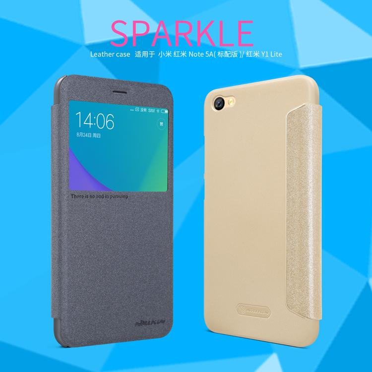 เคส Xiaomi Redmi Note 5A (Redmi Y1 Lite) Nillkin Sparkle Leather Case