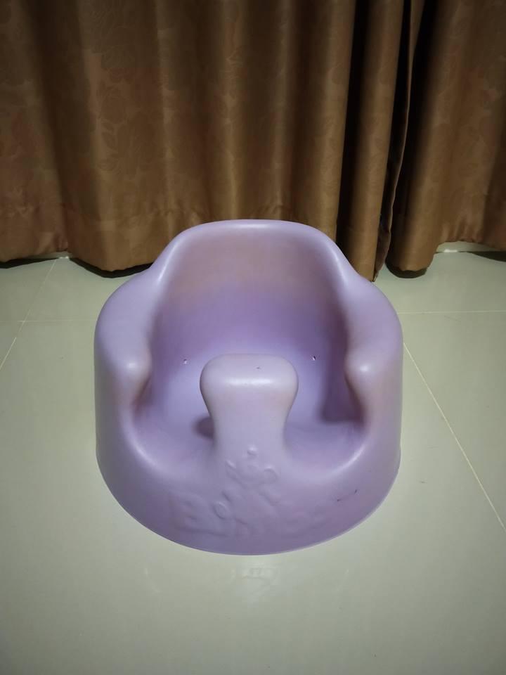 เก้าอี้หัดนั่ง Bamboo สีม่วง รหัส TY0001
