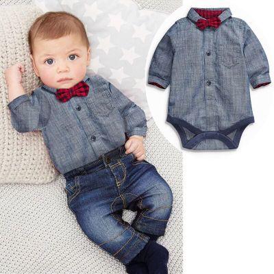 ID432-เสื้อ+กางเกง 4 ชุด /แพค ไซส์ 70-100