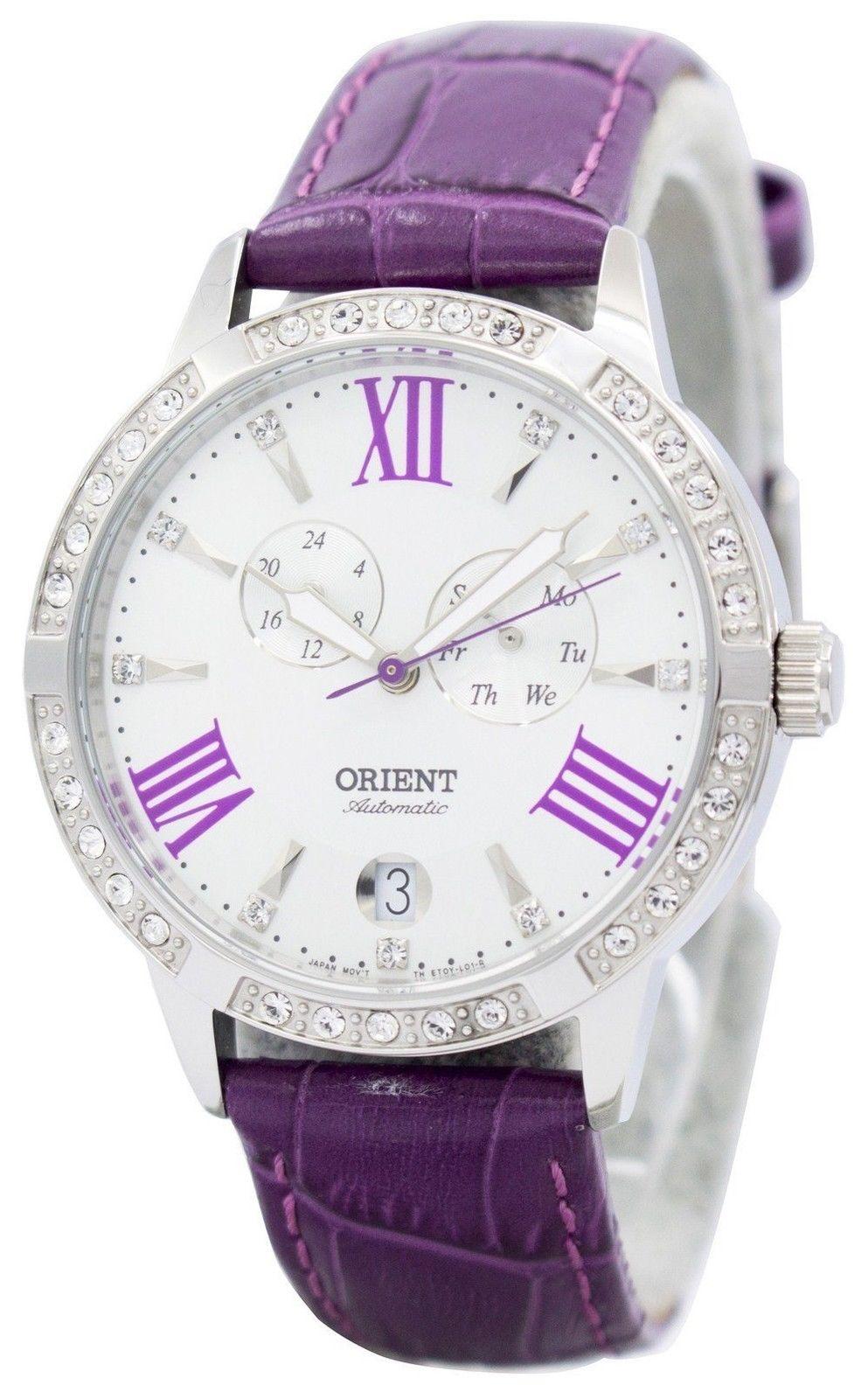 นาฬิกาผู้หญิง Orient รุ่น ET0Y004W, Fashionable Automatic