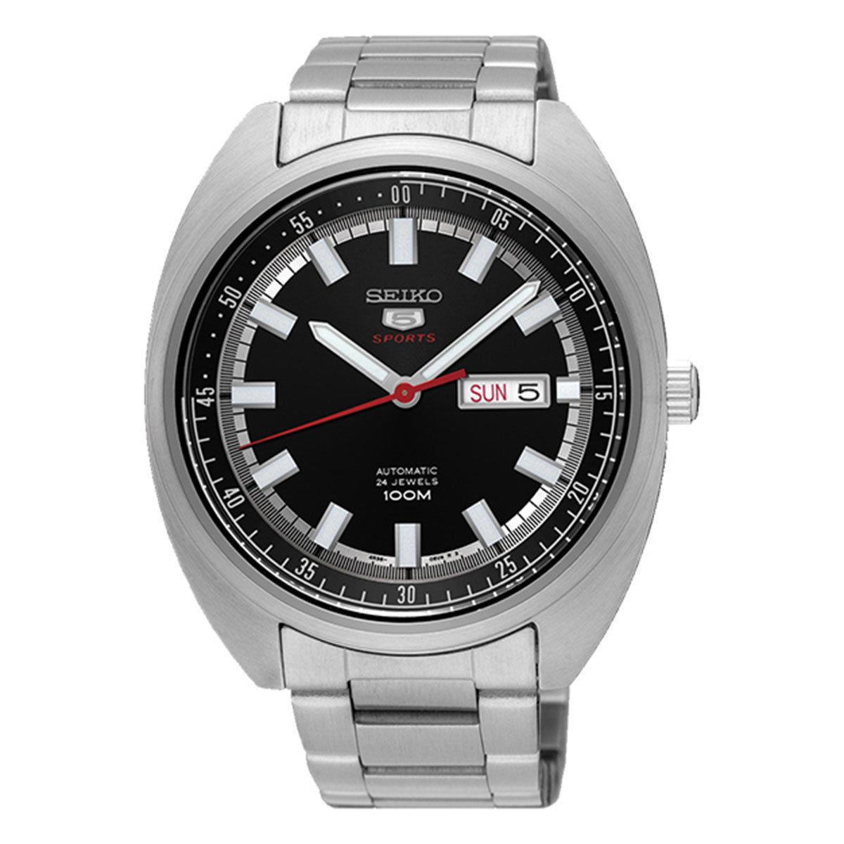 นาฬิกาผู้ชาย Seiko รุ่น SRPB19J1, Seiko 5 Sports Automatic Japan