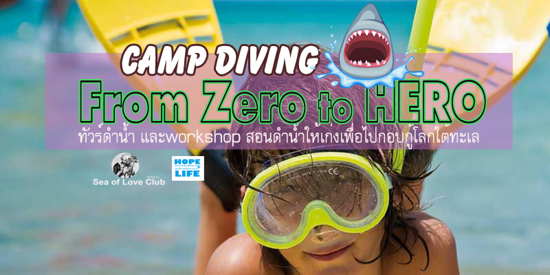 Teen party Thailand ทัวร์ดำน้ำ และแคมป์ดำน้ำ