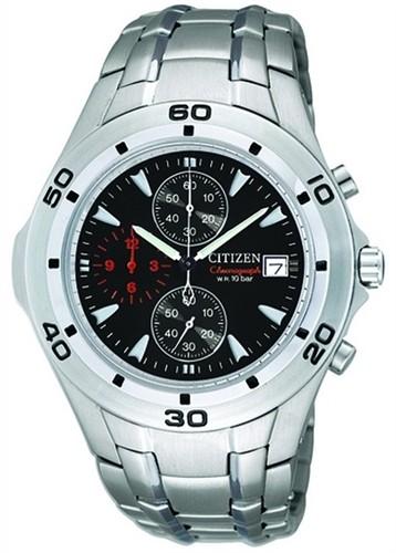 นาฬิกาข้อมือผู้ชาย Citizen รุ่น AN3340-58E, Quartz Chronograph 100m Sports