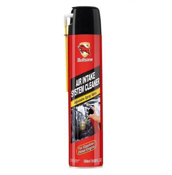 Bullsone สเปรย์ลมทำความสะอาดท่ออากาศในห้องเครื่องรถยนต์ Air Intake System Cleaner 550ml