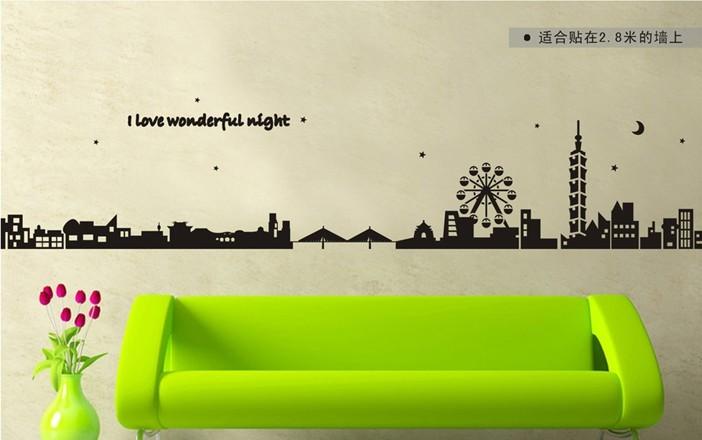 สติกเกอร์ I love wonderful night