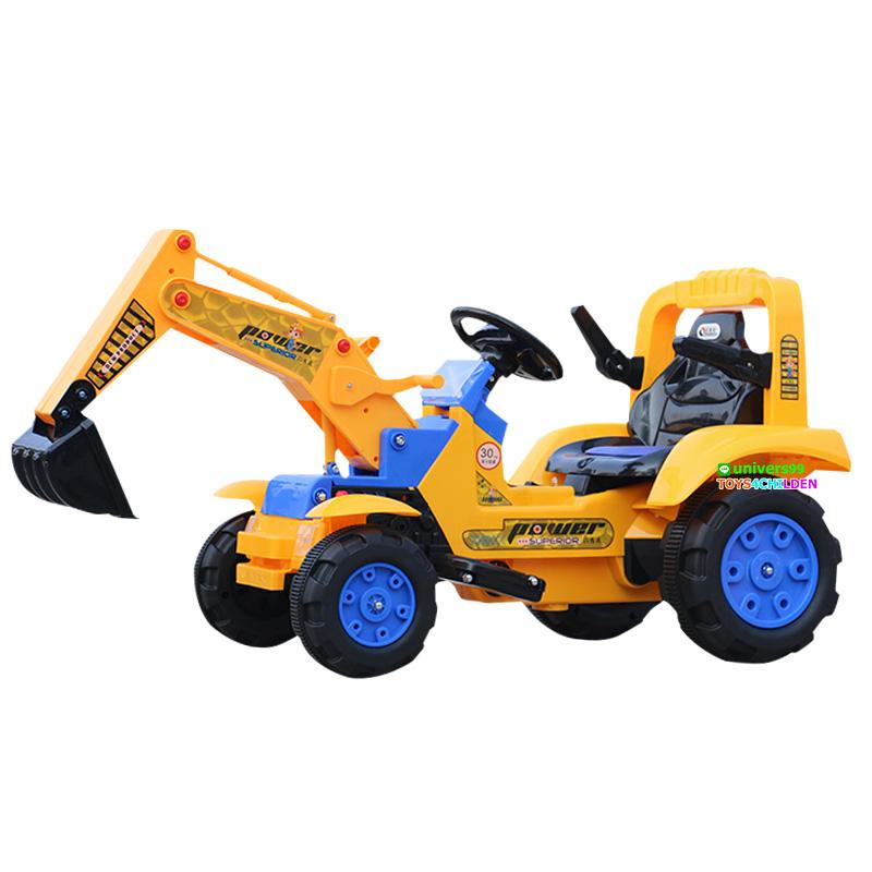 รถแบตเตอรี่ ตักดิน LNW001 Excavator Kids
