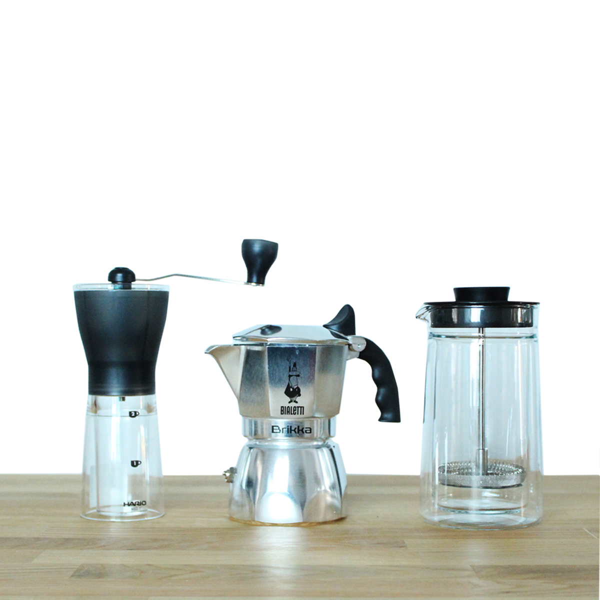 Bialetti Brikka Latte coffee set