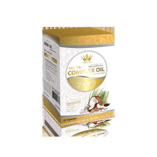 FEORA COMPLEX OIL (ฟีโอร่า คอมเพล็ก ออยล์)