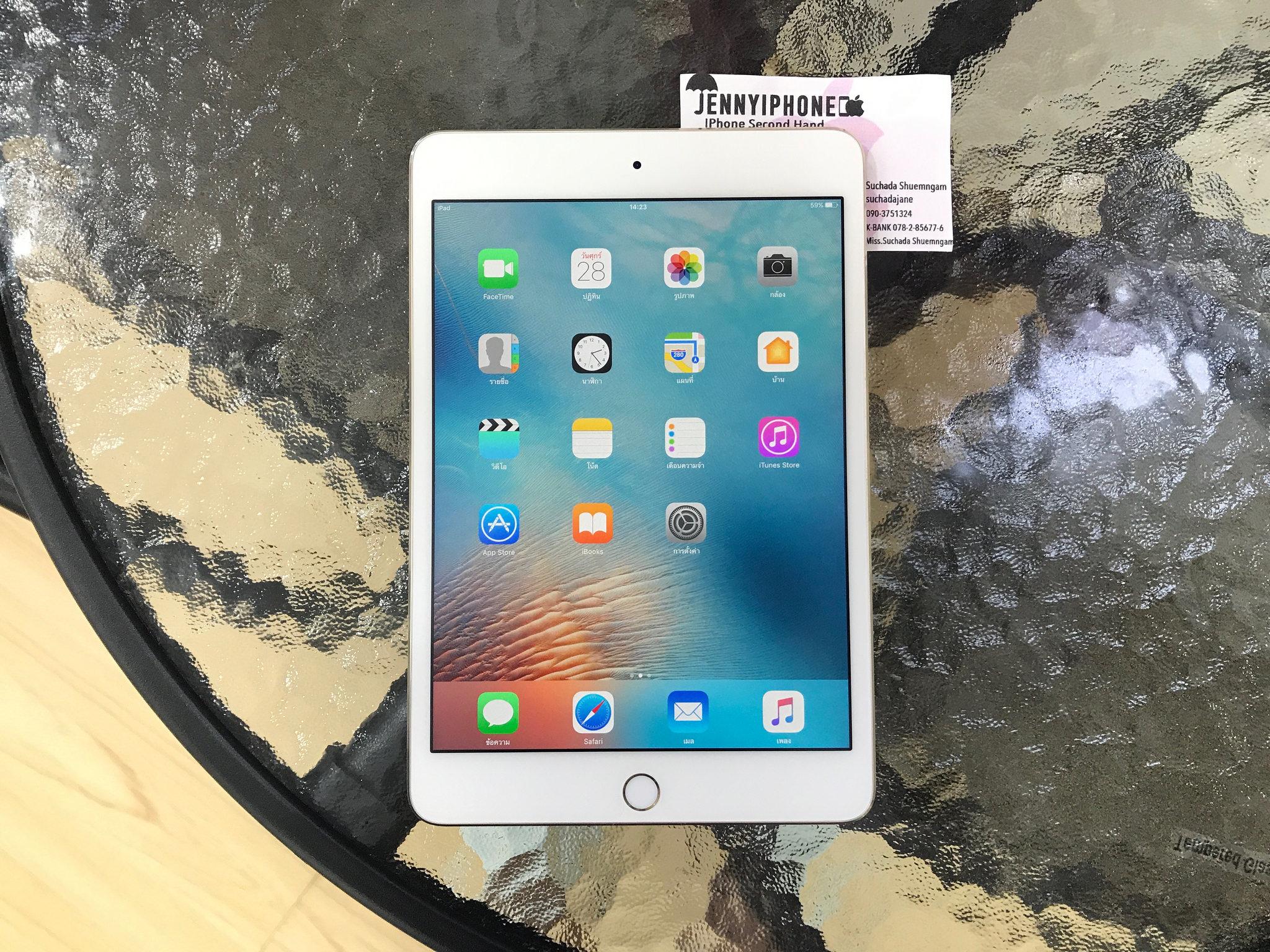 iPad Mini4 Wifi 16 Gb Gold สีทอง