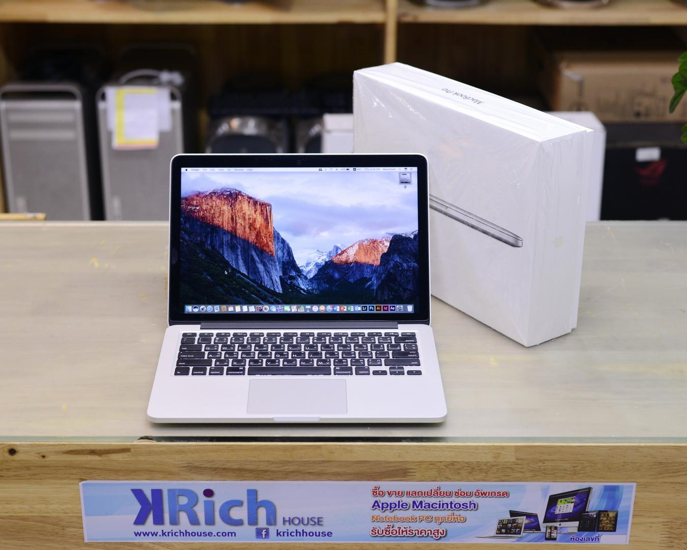 MacBook Pro (Retina 13-inch Mid 2014) Core i5 2.6GHz RAM 8GB SSD 128GB - Fullbox