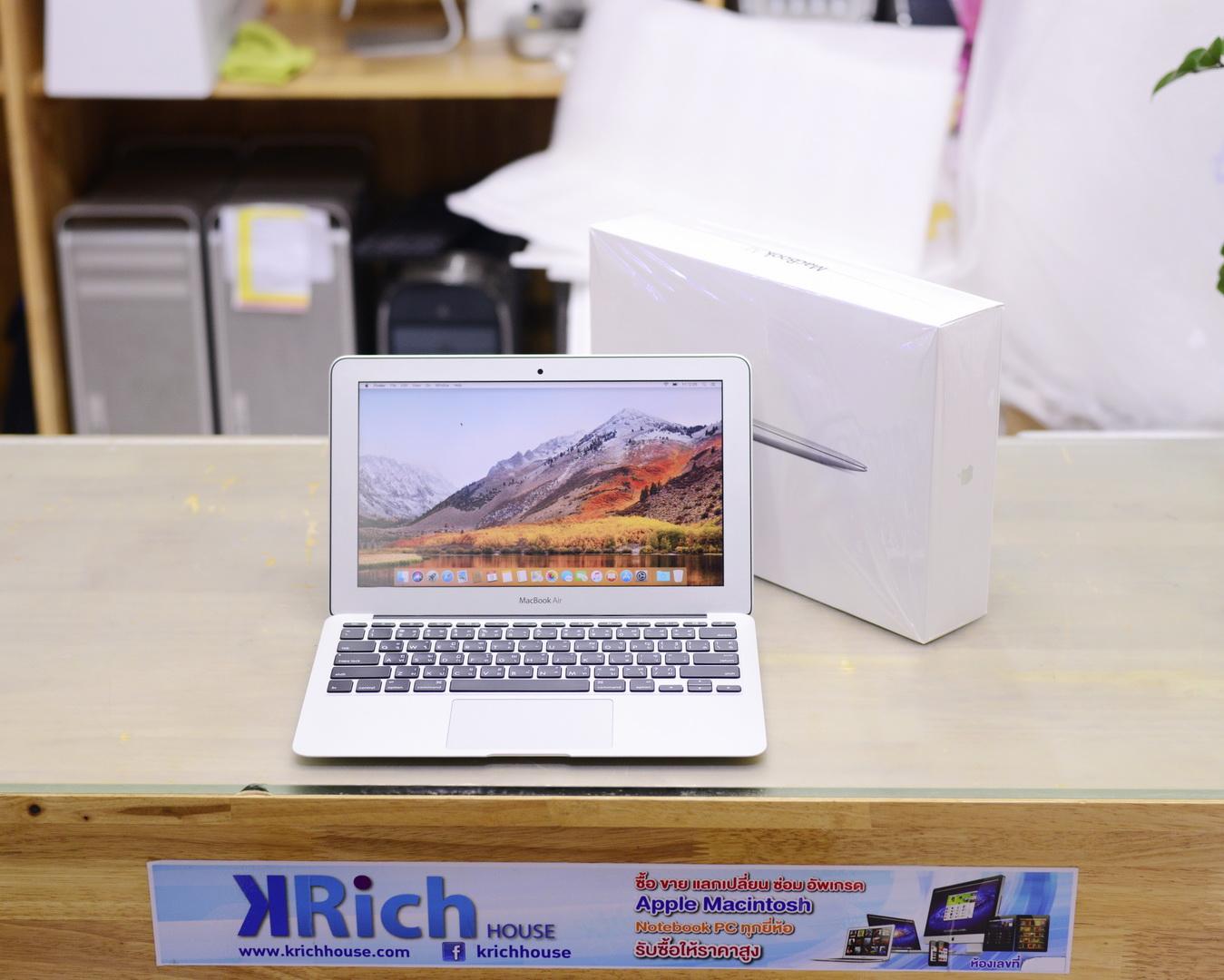 CTO - MacBook Air (11-inch Mid 2013) - Core i5 1.3GHz RAM 8GB SSD 256GB - Fullbox