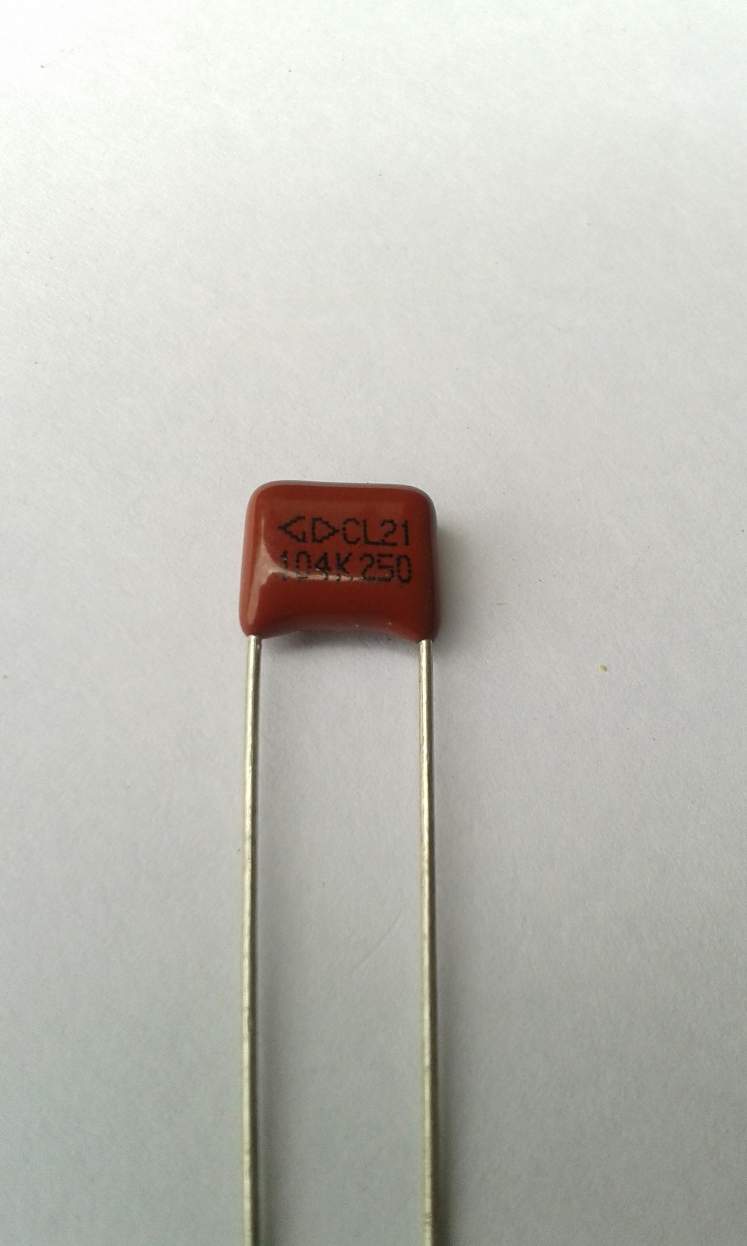 C 104 (100nF , 0.1uF) 250V