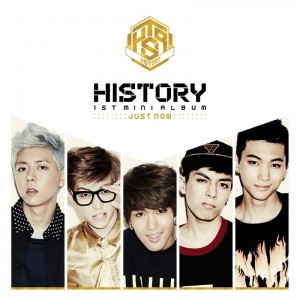 "[PRE-ORDER] History - 1st Mini Album ""Just now"""