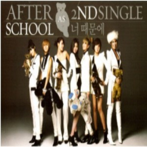 "[PRE-ORDER] AFTER SCHOOL - 2nd Single Album ""Because of You"""