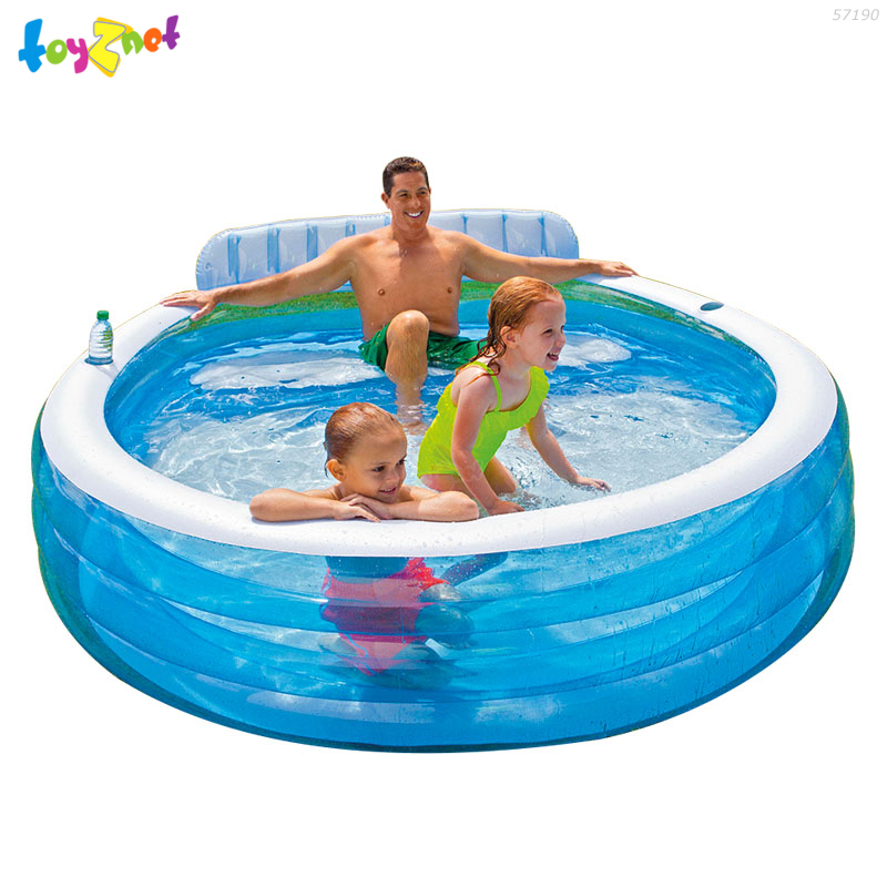Intex Swim Center Family Lounge Pool No57190 Toyznet Intex Thailand