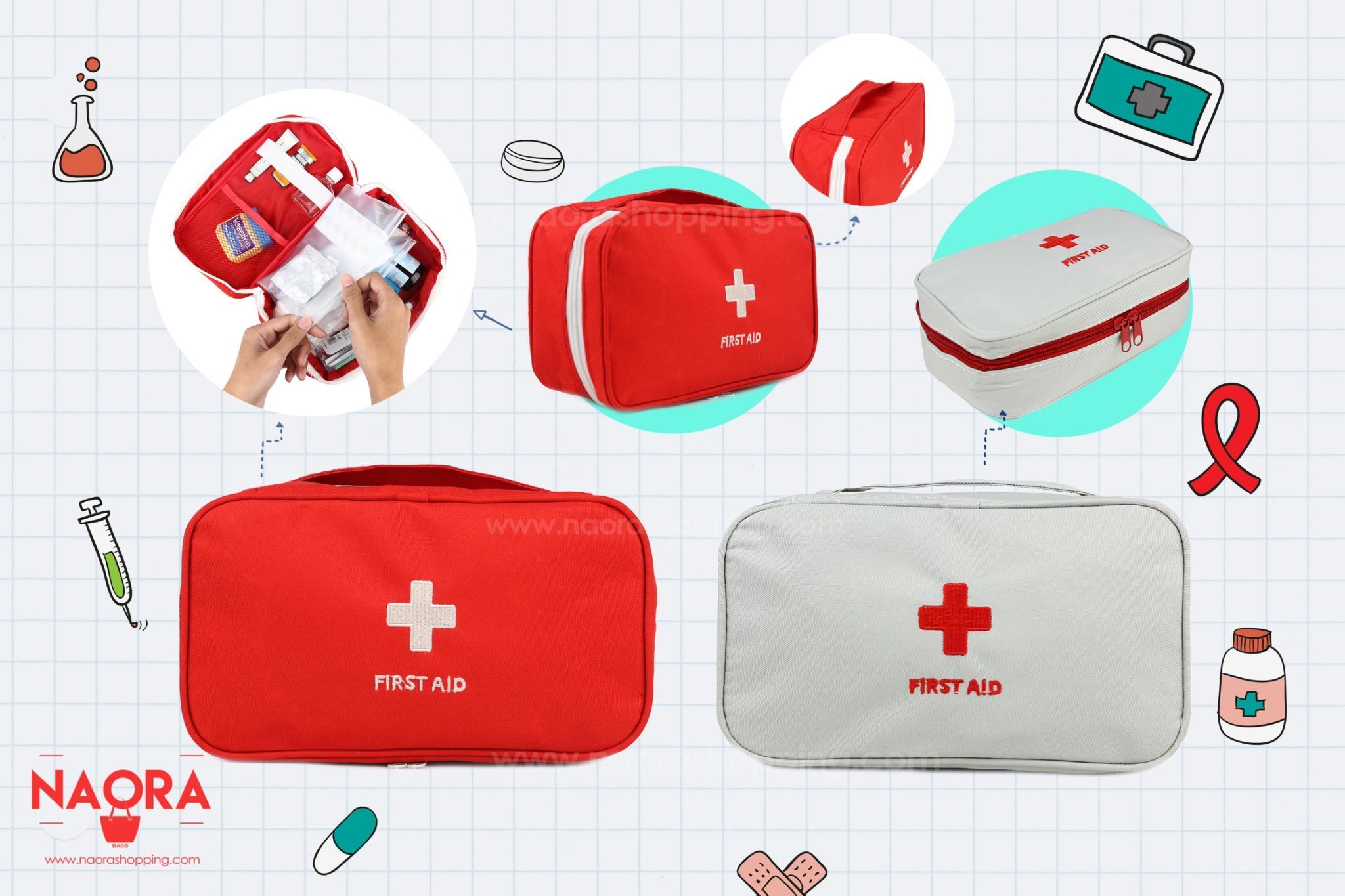 กระเป๋าจัดเก็บอุปกรณ์ปฐมพยาบาล