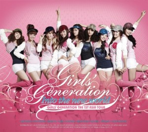 """[PRE-ORDER] Girls' Generation - The 1st Asia Tour """"Into The New World"""" (2CD)"""