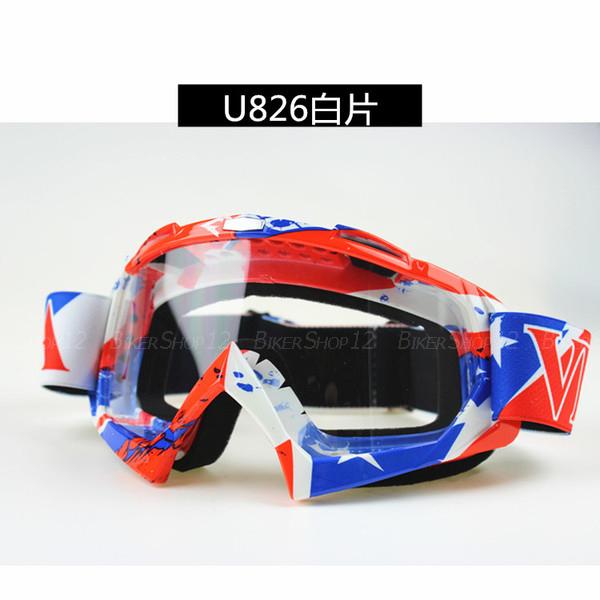 แว่นวิบาก (Goggle) รหัส U826 เลนส์ใส