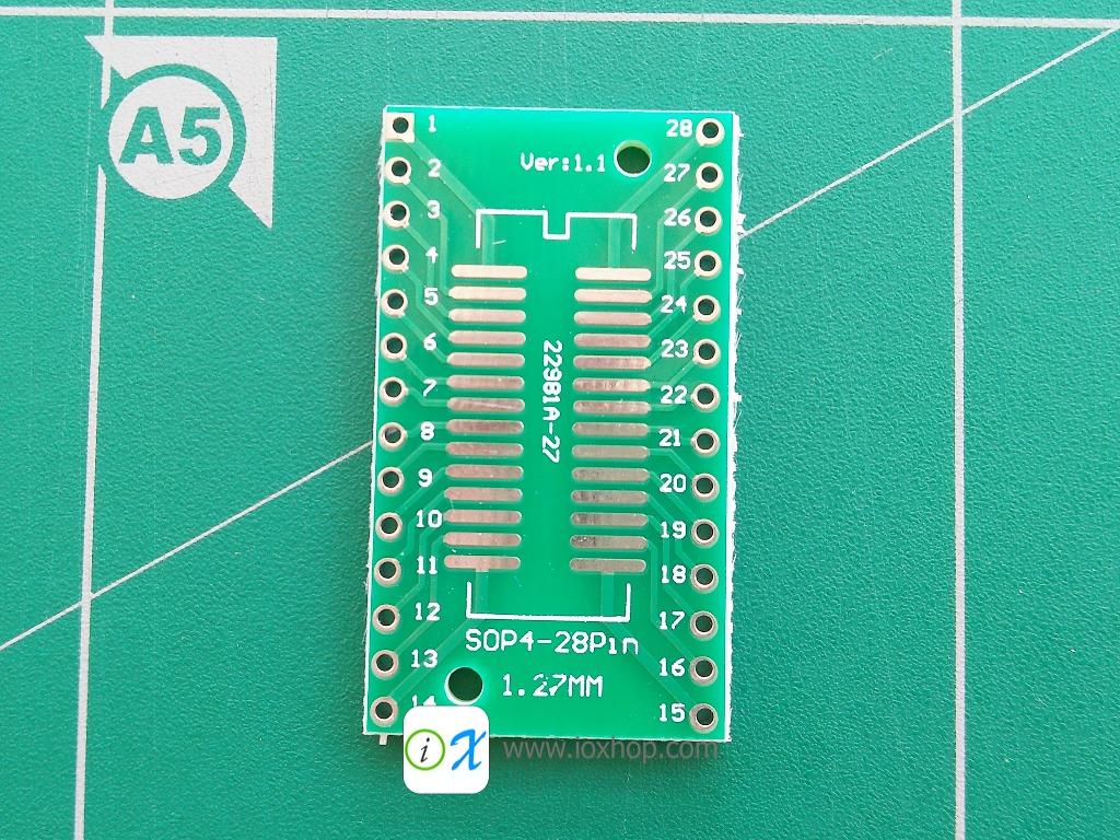 PCB Adapter SOP28 SSOP28 TSSOP28 to DIP28