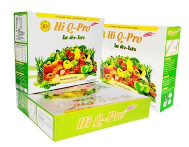 Hi Q Pro ไฮคิวโปร อาหารเสริมดีท็อกซ์ลำไส้ ไฟเบอร์สูง ลดอาการท้องผูก ป้องกันริดสีดวง ล้างสารพิษในร่างกาย