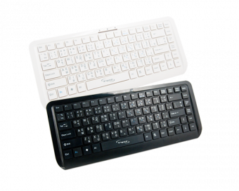 Signo KB-738Blk Ultra-Slim Notebook Keyboard with USB