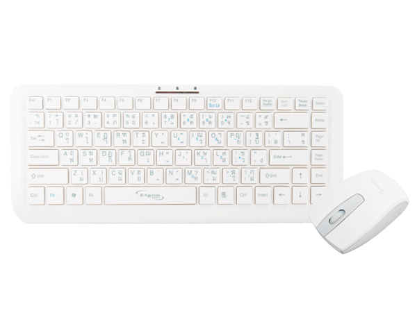 Signo KW-738 + WM-103 2.4G Wireless Mouse and Wireless Keyboard Set with USB