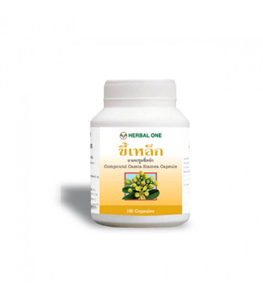 Herbal one Cassia siamea Capsule ขี้เหล็ก 100 tablet